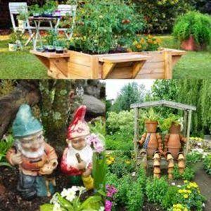 Adornos para jardines